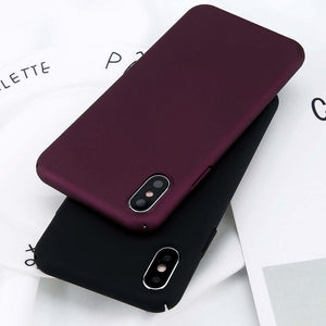 Simple Plain Phone Case - Thallo Shop