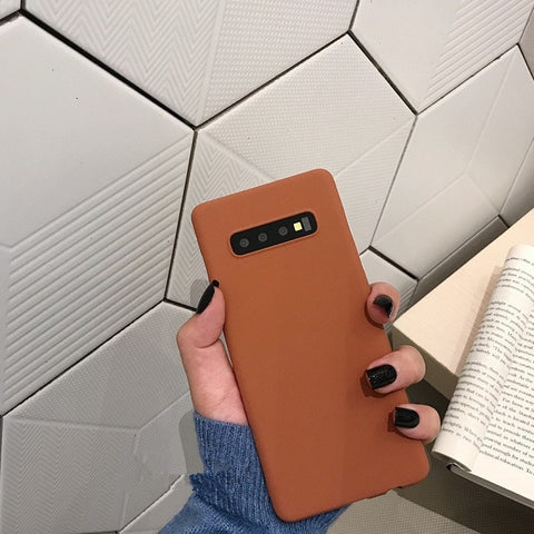 Matte Simple Samsung Case - Thallo Shop