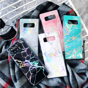 Marble Design Samsung Case - Thallo Shop