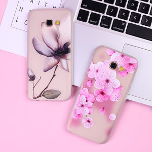 Flowers Design Samsung Case - Thallo Shop