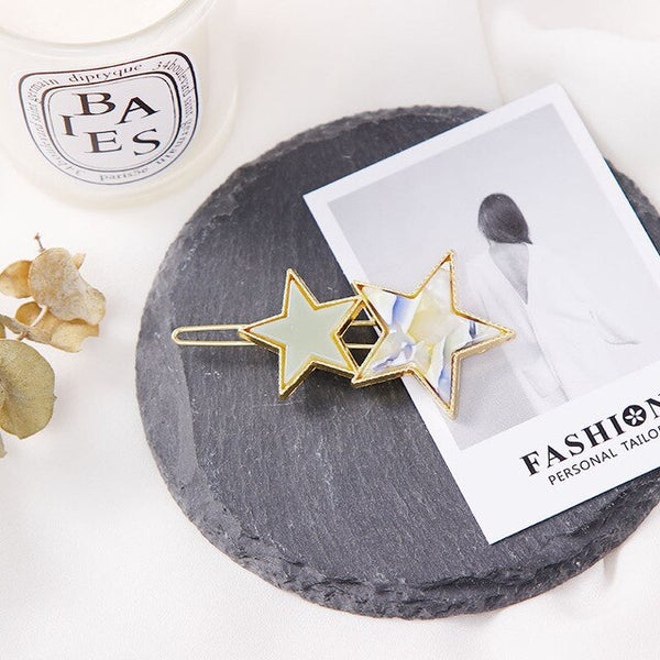 Double Star Hair Clip - Thallo Shop
