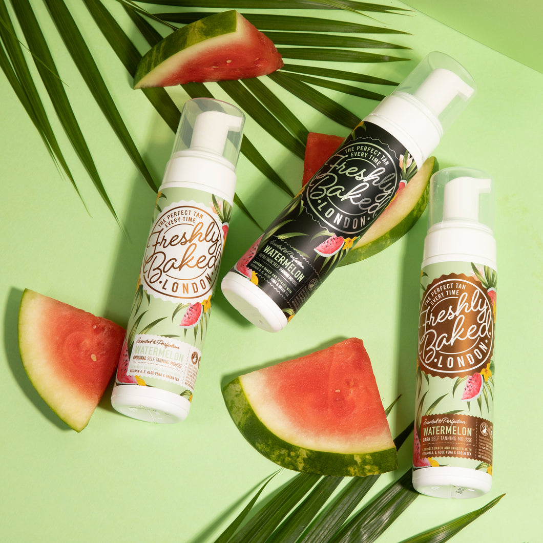 Ultra Dark Watermelon Scented Self Tan Mousse