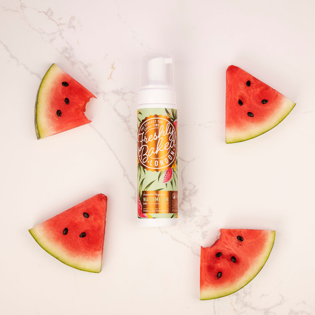 Dark Watermelon Scented Self Tan Mousse