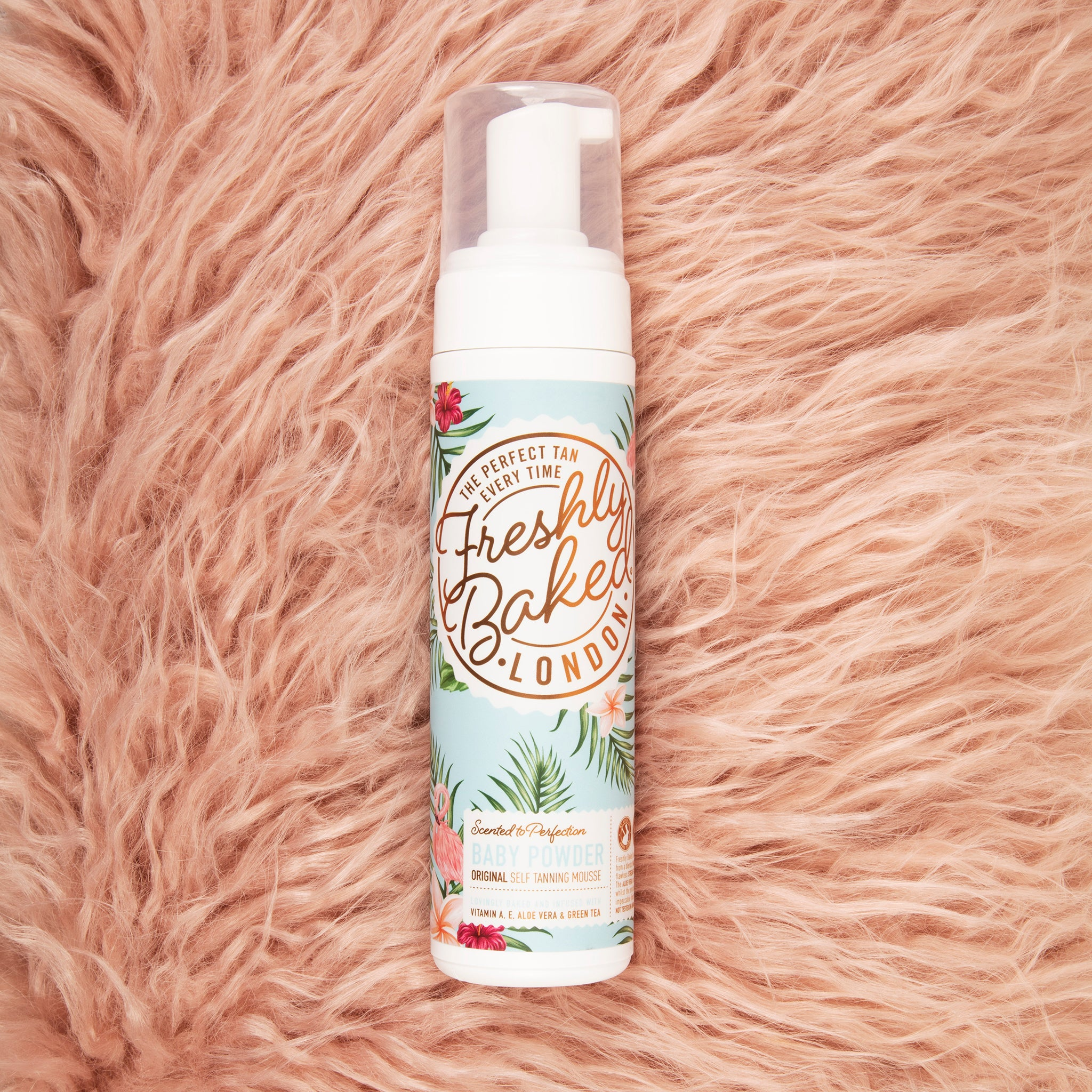 Original Baby Powder Scented Self Tan Mousse