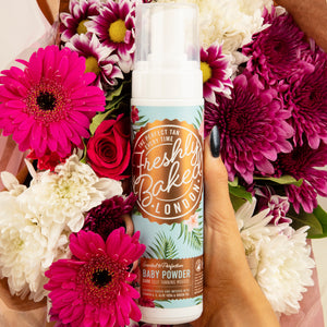 Dark Baby Powder Scented Self Tan Mousse
