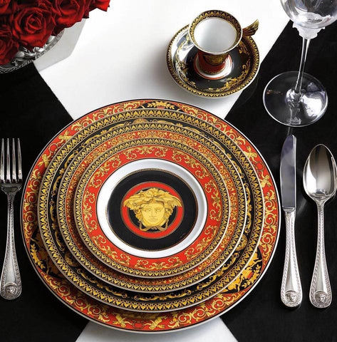 Medusa Red Dinnerware