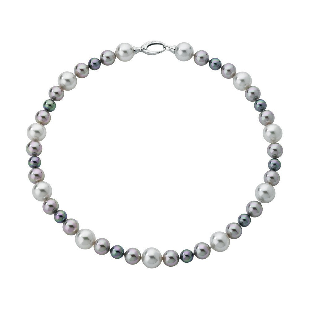 Multicolour Pearls Necklace Estela 128242120000101