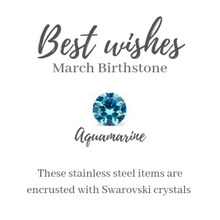 Load image into Gallery viewer, March Birthstone Set