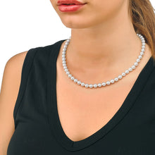 Load image into Gallery viewer, White Pearls Necklace Lyra 98600120210101