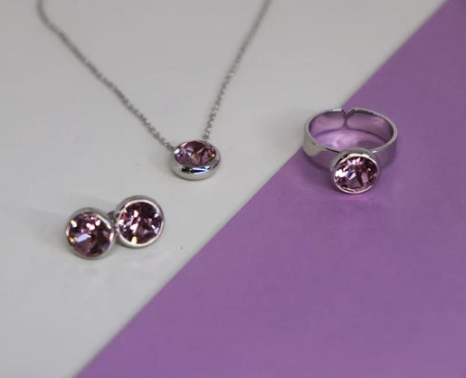 June Birthstone Set