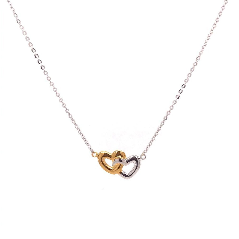 2 Heart Necklace (753033)