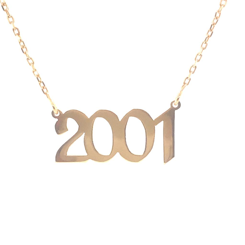 Silver 925 Year Necklace