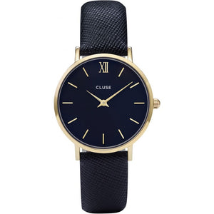 Minuit Mesh Black, Gold Colour (CL30014)
