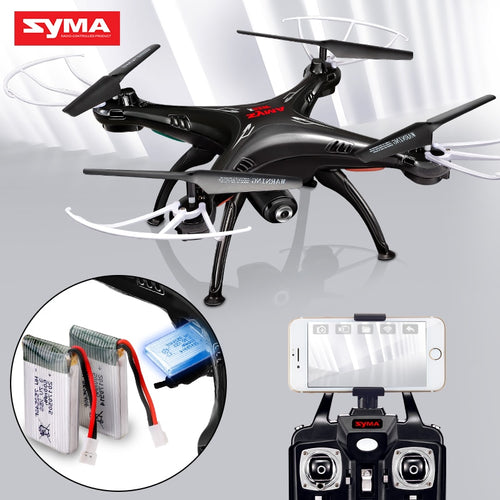 SYMA X5SW Drones with Camera HD WiFi FPV Real Time transmission