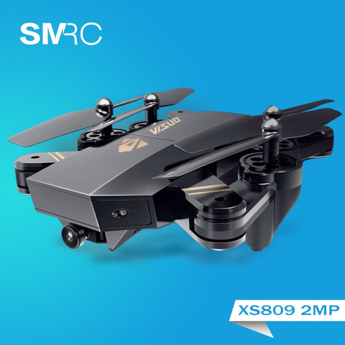 Foldable RC Helicopter Drones with Camera HD Hovering Racing Quadcopter Drone