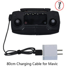 Load image into Gallery viewer, 80cm Transmitter Charging Durable Nylon USB Cable for DJI Mavic Pro DJI Spark Drone