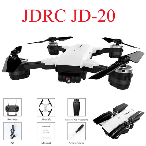 JD20 Racing Drone with Camera HD 2MP Wide Angle WIFI FPV