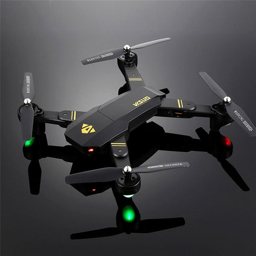 Selfie Drone With Wide Angle HD Camera Foldable Hovering Racing Helicopter