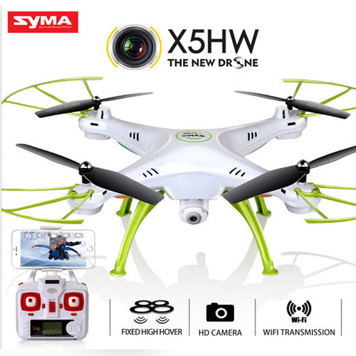 X5HW Drone With Camera HD Racing Selfie Drones 6-Axis