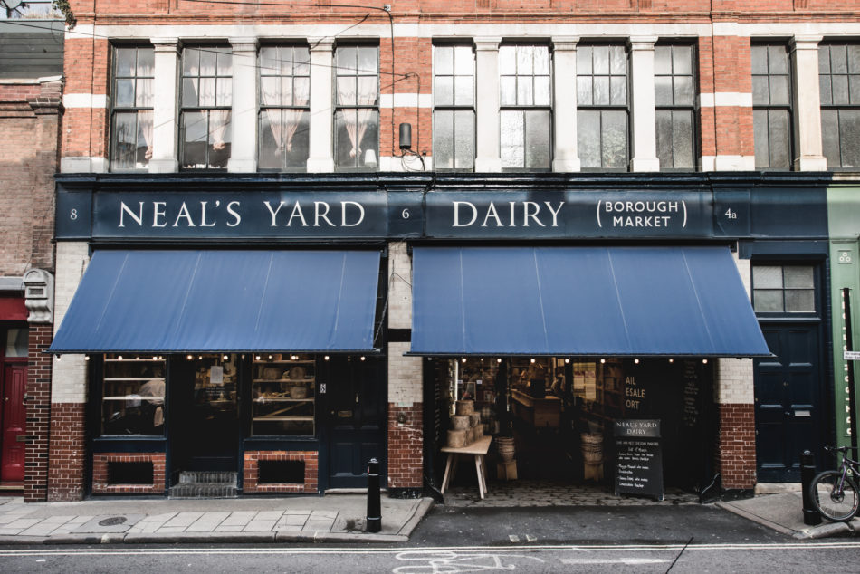 The Modern Menu: how to make a cheeseboard at Neal's Yard Dairy