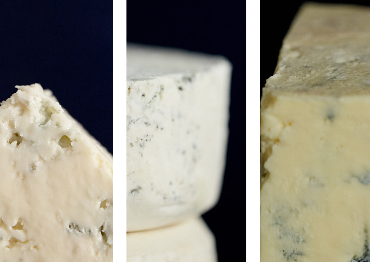 ticklemore blue cheeses