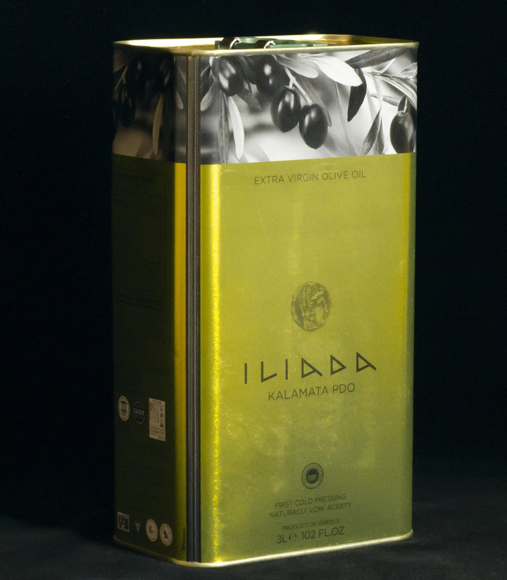 Iliada Extra Virgin Olive Oil - 3 Litre