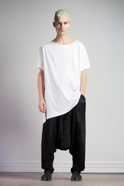 Block Shirt - White
