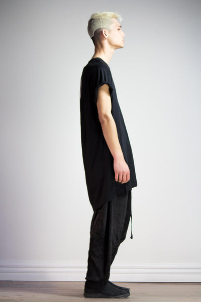 Block Shirt - Black