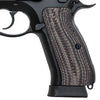 Guuun CZ 75 Grips Full Size G10 CZ75 SP-01 Grip OPS Matrix Light Texture  - H6 DL - Guuun Grips