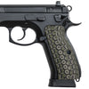 Guuun CZ 75 Grips, Full Size CZ SP01 Tactical G10 Grip Thin OPS Mechanical Texture H6 WU - Guuun Grips