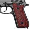 G10 Grips for Taurus PT92 - Starburst Texture Compatible with PT 92/99/100/101 Pistol and Decocker - T2-S - Guuun Grips