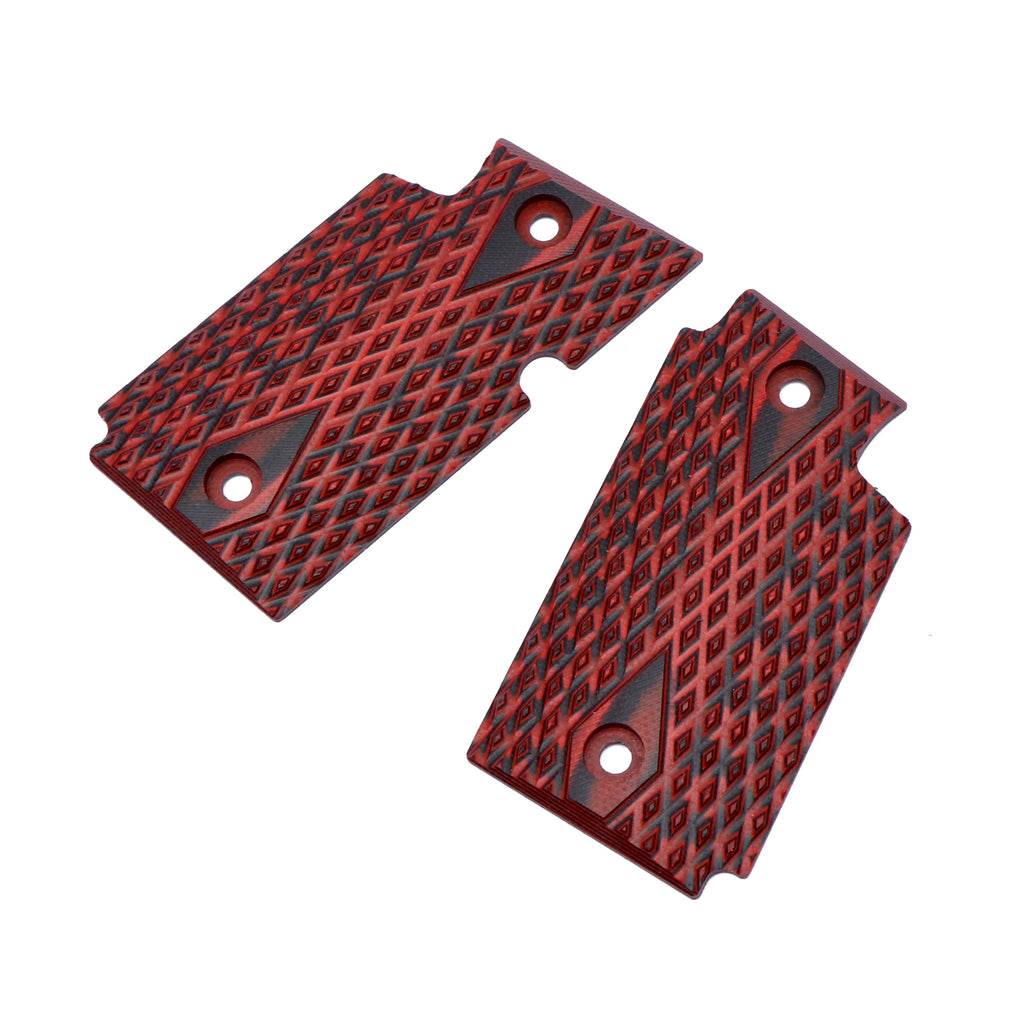 Guuun G10 Grips for Sig Sauer P938 Tactical Diamond Cut Texture - P9-DM - Guuun Grips