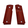 G10 Pistol Grips for 1911 Compact Officer 1911 Sunburst Texture - 9 Color Options - H1C-S - Guuun Grips