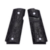 G10 Pistol Grips for Officer 1911 Compact Skull Skeleton Texture - 5 Color Options - H1C-C - Guuun Grips