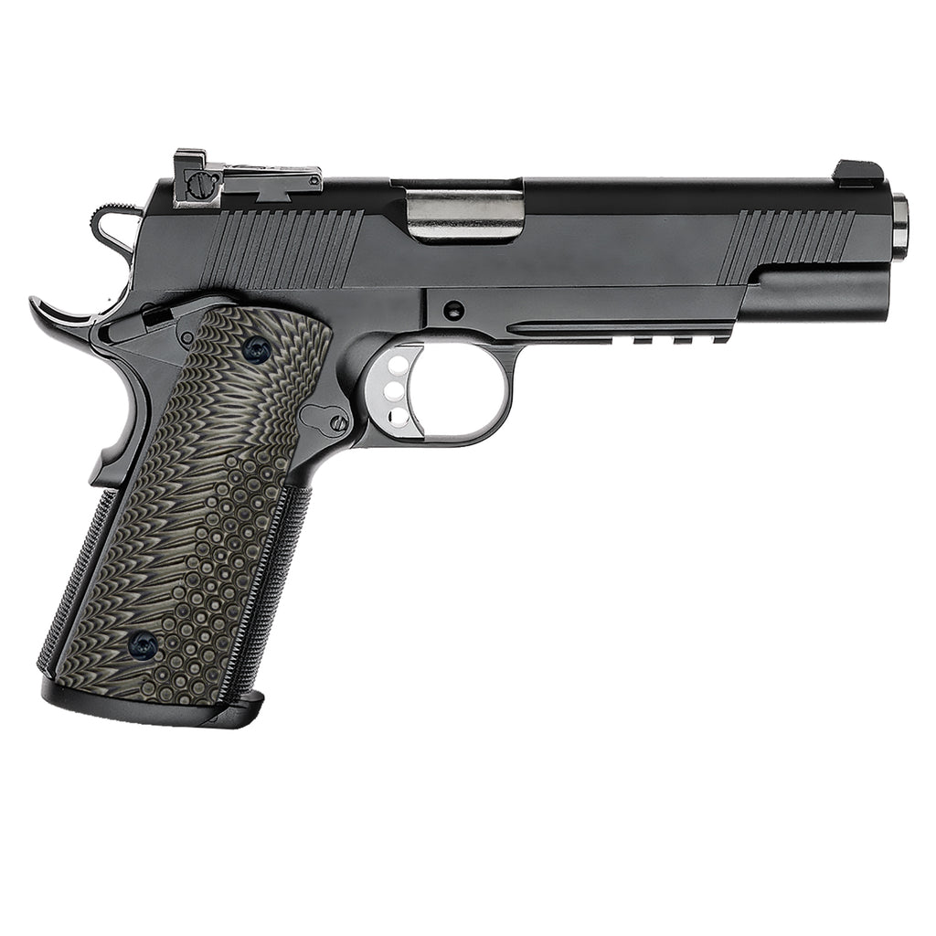 Guuun 1911 Magwell Grips Full Size 1911 G10 Grips Aggressive OPS Texture H3-A - Guuun Grips