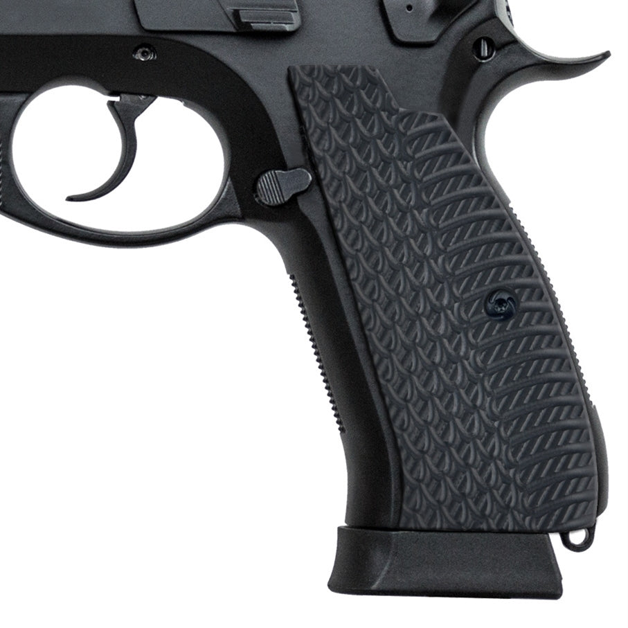 Guuun CZ 75 SP-01 Grips Snake OPS Texture Slim Aggressive Panels Full Size CZ Shadow G10 Pistol Grips SP1 SW - Guuun Grips