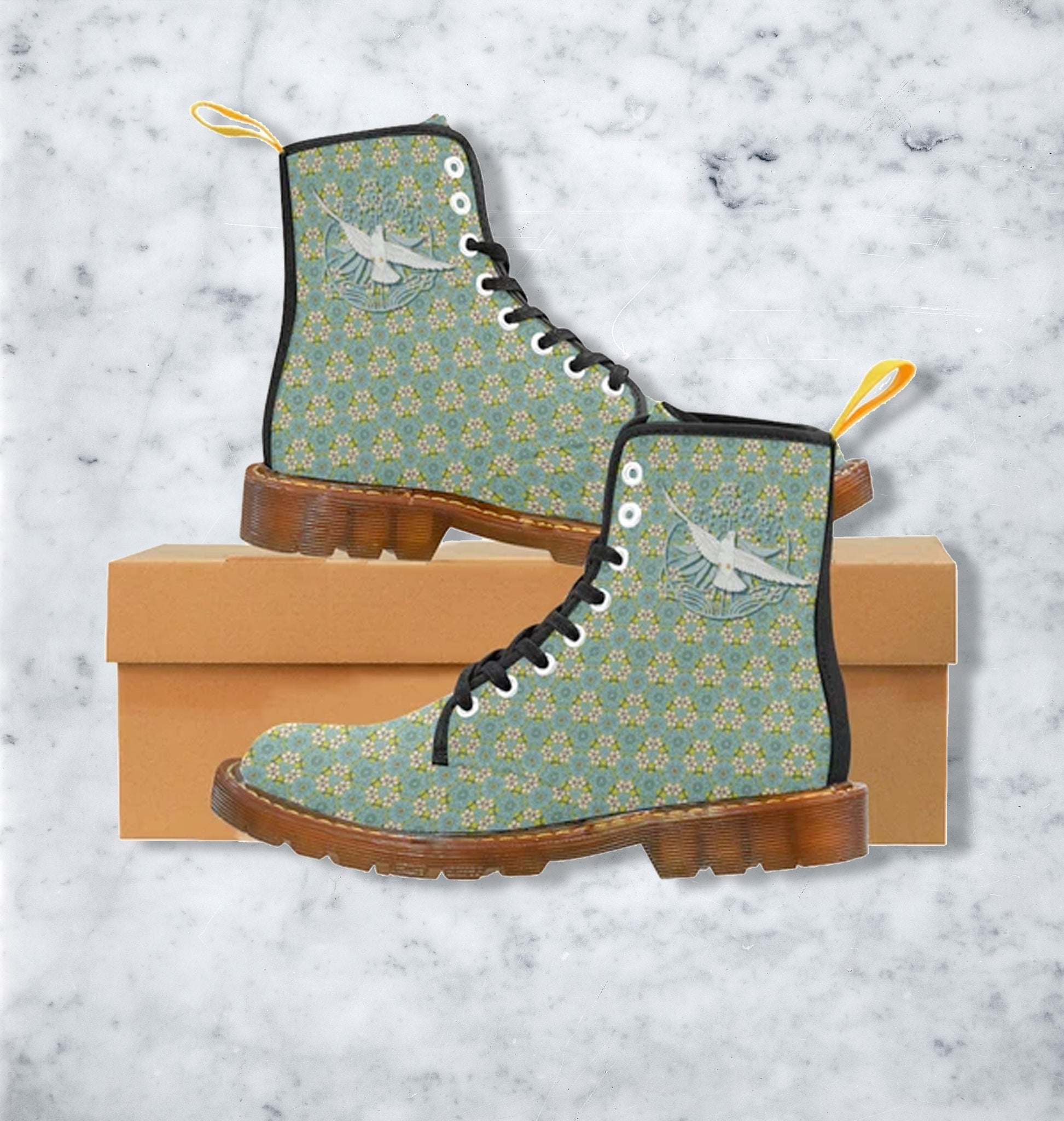 Boots Motif Colombe