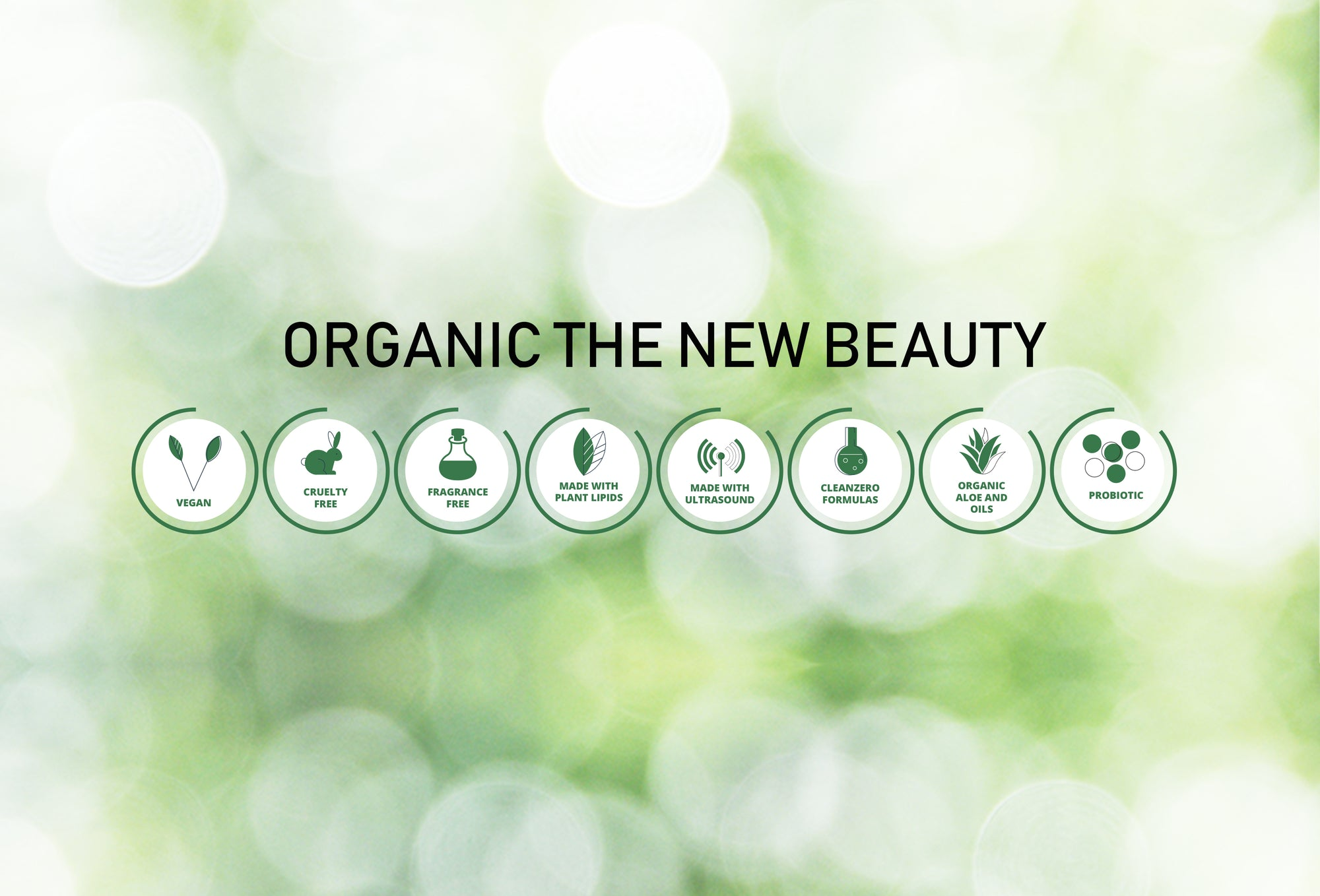 ORGANIC THE NEW BEAUTY