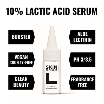 Lecithin containing Lactic Acid