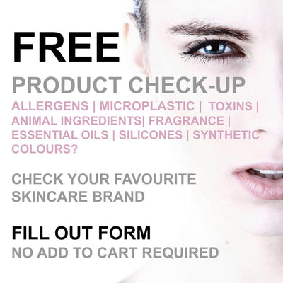 FREE SKINCARE PRODUCT CHECK-UP