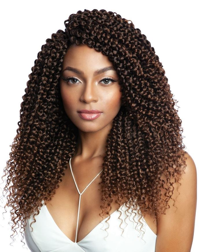 3X Bohemian Soft Water Crochet Hair 14""