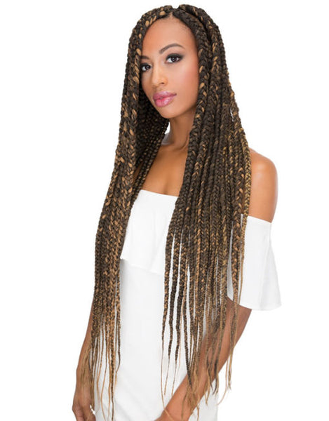 "Janet EZ Tex Pre-Stretched 44"" Braiding Hair"