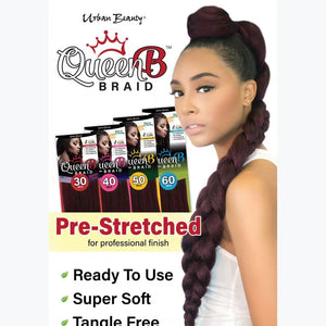 Queen B Braiding Hair 50""