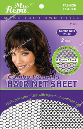 Ms. Remi Combo Weaving Hair Net Sheet