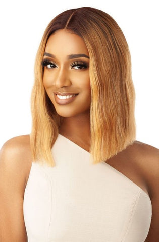 Outre Synthetic Pre-Plucked I-Part Swiss Lace Front Alana Wig