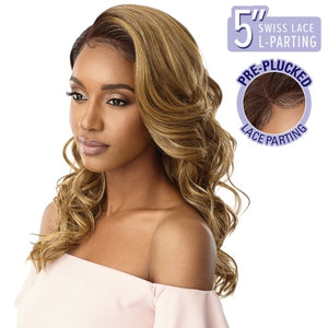 "Outre Synthetic Hair 5"" L Part Swiss Lace Front Gillian Wig"