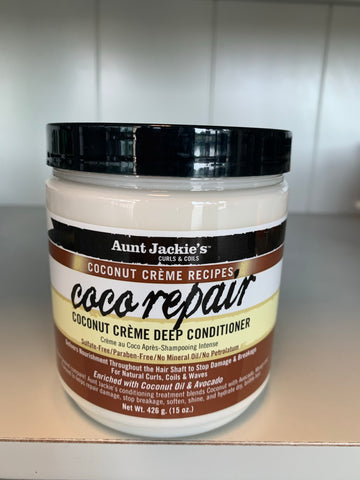 Aunt Jackie's Coco Repair Deep Conditioner