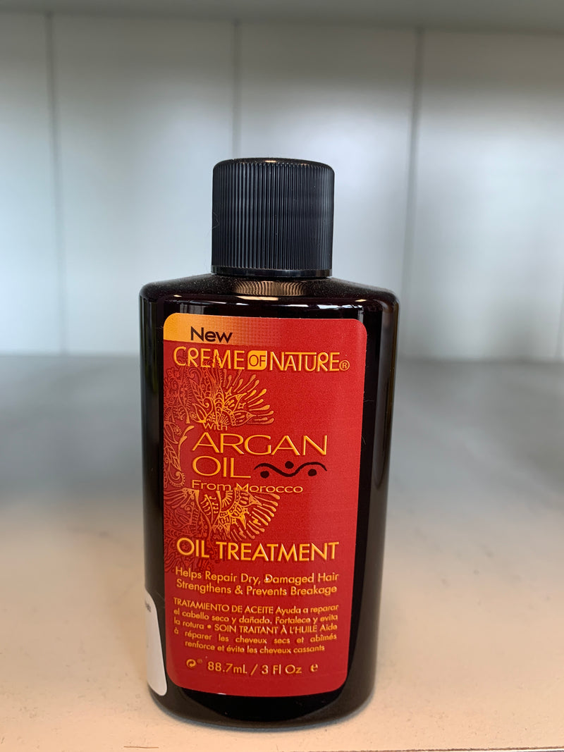 Crème of Nature with Argan Oil Oil Treatment