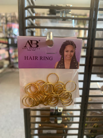 Gold Hair Rings