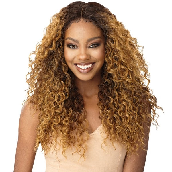 Outre Synthetic I-Part Swiss Lace Front Billie Wig